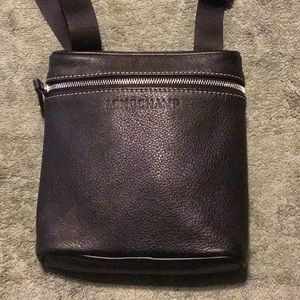 Vintage Longchamp Leather Crossbody bag